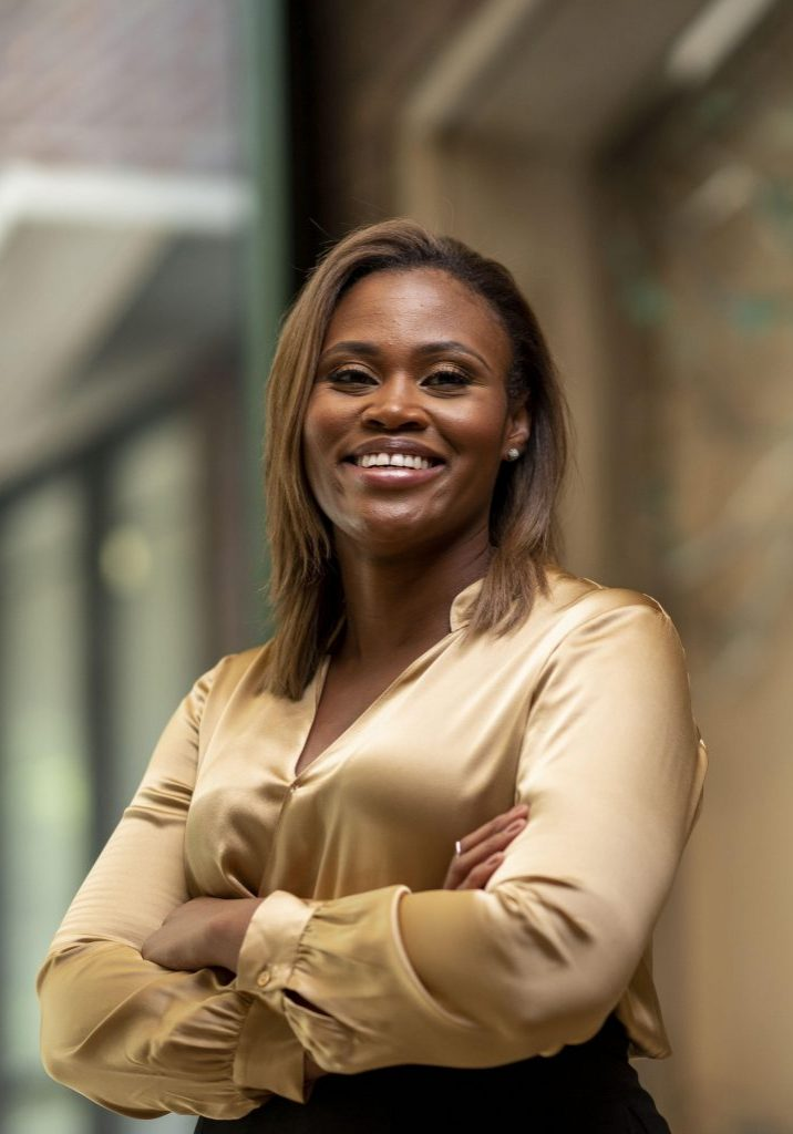 Divinity School professor Lisa Thompson for DAR.(John Russell/Vanderbilt University)